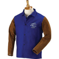 Revco 9 oz. FR and Cowhide Welding Coat - 30""