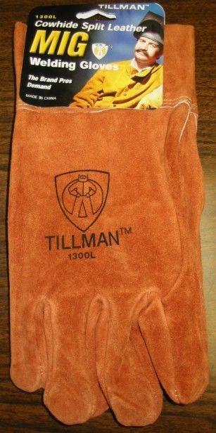 M L TILLMAN 52 ANTI-VIBRATION MIG WELDING GLOVES XL