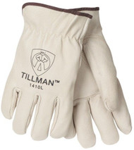 TILLMAN 1410 TOP GRAIN PIGSKIN DRIVING GLOVES - M, L, XL