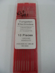 "TUNGSTEN ELECTRODES .040"" x 7"" 2% THORIATED"