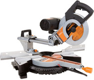 "EVOLUTION RAGE 3 DB DUAL-BEVEL  ~  10"" TCT DB SLIDING MITER SAW"