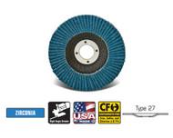 """CGW Camel - Flap Discs Z-Poly Economy  4-1/2"""" x 7/8""""  80-grit - Qty 10 - 41705"""