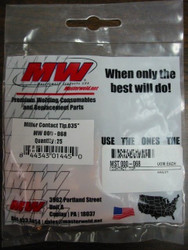 MILLER 000068 .035 CONTACT TIPS- QTY/25