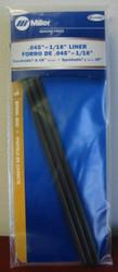 "Miller Genuine Liner .045-1/16"" for Spoolmatic & XR Series - 3/pk - 136683"