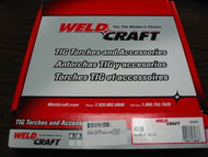 WELDCRAFT 45V09 GAS HOSE 12.5' VINYL for WP20