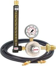 SMITH Flowmeter Regulator w/ hose CGA580 Argon/CO2 32-30-580-6