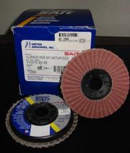 SAIT 73360 4-1/2 x 7/8 3AX 60X FLAP DISCS - QTY/10