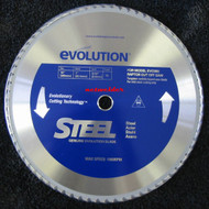 "EVOLUTION TCT 15"" STEEL-CUTTING SAW BLADE - 15BLADEST"