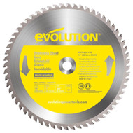 "EVOLUTION TCT 14"" STAINLESS STEEL-CUTTING SAW BLADE"