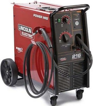 LINCOLN Power MIG 216 Wire Feed Welder K2816-2