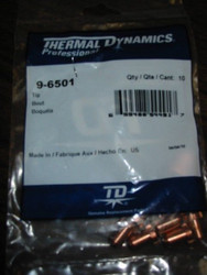 THERMAL DYNAMICS 9-6501 TIP - QTY 10