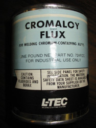 CROMALOY BRAND FLUX FOR WELDING CHROMIUM-CONTAINING ALLOYS - 1 pound can
