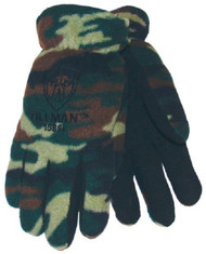 TILLMAN 1586 Camo Polar Fleece WINTER Gloves- LARGE