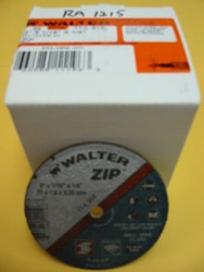 "WALTER CUT-OFF WHEELS 3""x1/16""x1/4"" -QTY/25- 11-L-312"