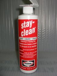HARRIS STAY-CLEAN LIQUID FLUX - 16oz bottle  SCLF16
