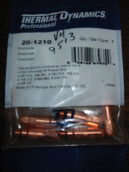 THERMAL DYNAMICS 20-1210 ELECTRODE - QTY 5