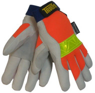 TILLMAN 1486 HI-VIS TRUEFIT WINTER GLOVES - L, XL
