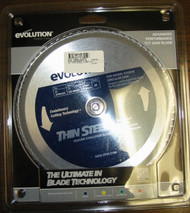 "EVOLUTION TCT 9"" THIN STEEL-CUTTING SAW BLADE"