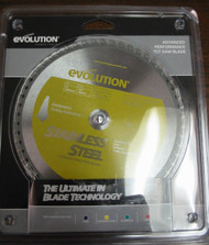 "EVOLUTION TCT 8"" STAINLESS STEEL-CUTTING SAW BLADE"