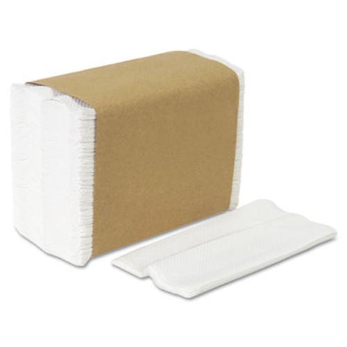 Georgia Pacific Professional Tall Fold Dispenser Napkins, 1-Ply, 7 x 13 1/2, White, 10000/Carton (GPC 332-01)