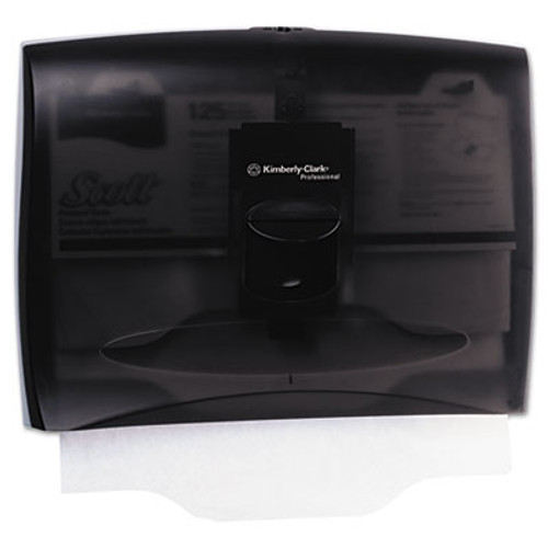 Kimberly-Clark Professional* In-Sight Toilet Seat Cover Dispenser, 17 2/5 x 3 1/3 x 13, Smoke/Gray (KCC 09506)