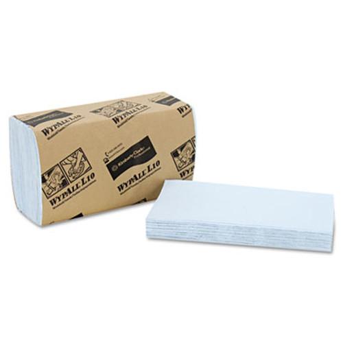 WypAll* L10 Windshield Wipers, 9 3/10 x 10 1/2, Light Blue, 140/Pack, 16 Packs/Carton (KCC 05120)
