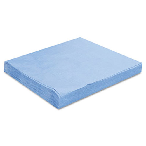 Hospital Specialty Co. DuPont Sontara EC Engineered Cloths, 12 x 12, Blue, 100/Pack, 10 Packs/Carton (HOS PR811)