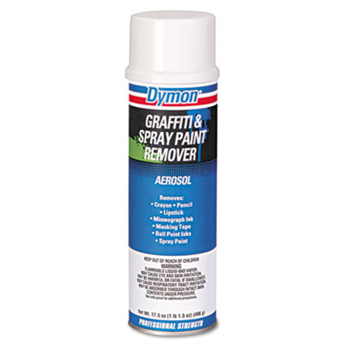 Dymon Graffiti/Paint Remover, Jelled Formula, 20oz Aerosol (DYM 07820)
