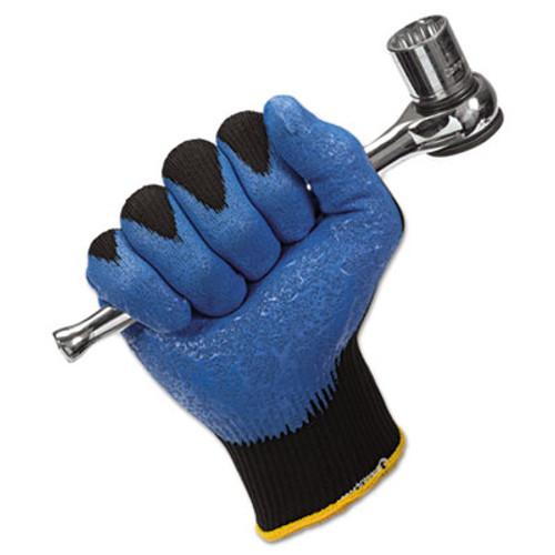Jackson Safety* G40 Nitrile Coated Gloves, Large/Size 9, Blue, 12 Pairs (KCC 40227)