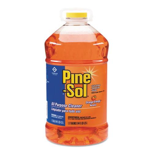 Pine-Sol All-Purpose Cleaner, Orange, 144oz Bottle, 3/Carton (CLO 41772)