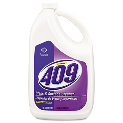 Formula 409 Glass & Surface Cleaner, Refill, 128 oz, 4/Carton (CLO 03107)