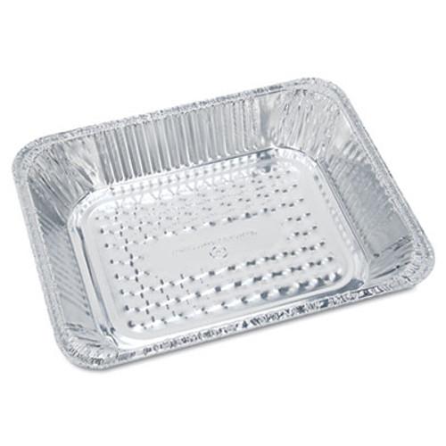 "Handi-Foil of America Steam Table Aluminum Pan, Half-Size, 1 11/16"" Shallow, 100/Carton (HFA 32035)"