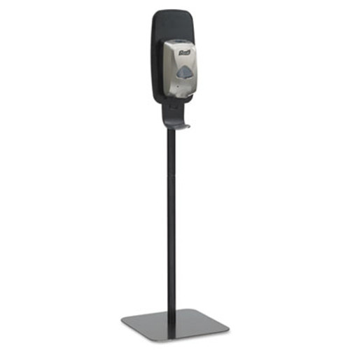 PURELL TFX Floor Stand, Monarch Black 15 3/4 in  x 4 3/4 ft (GOJ 2425-DS)