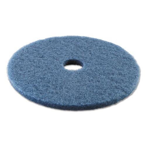 Boardwalk Standard 20-Inch Diameter Scrubbing Floor Pads, Blue (PAD 4020 BLU)