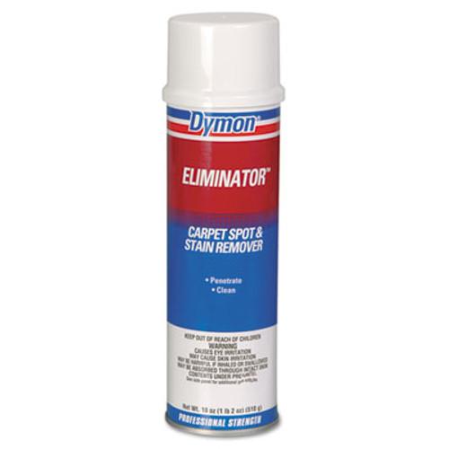Dymon Eliminator Carpet Spot & Stain Remover, 20oz, Aerosol, 12/Carton (DYM 10620)