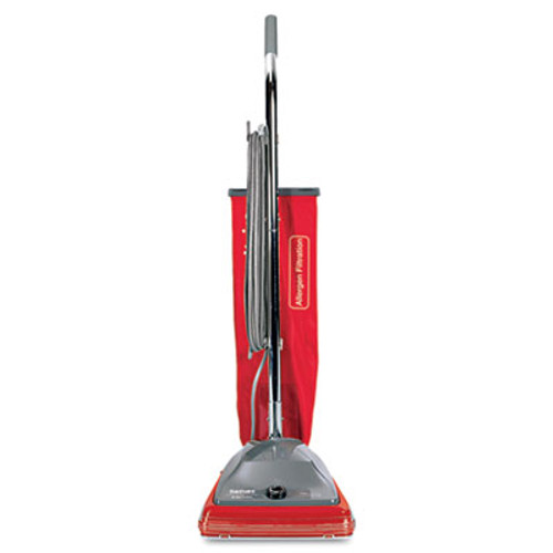 Sanitaire Commercial Standard Upright Vacuum, 19.8lb, Red/Gray (EUR 688)