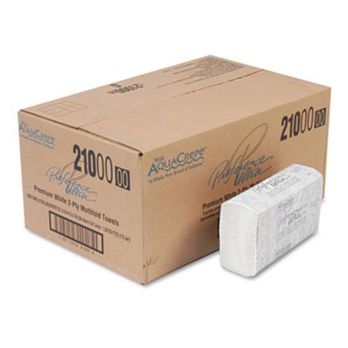 Georgia Pacific Professional Paper Towel, 9 1/5 x 9 2/5, White, 125/Pack, 16 Packs/Carton (GPC 210)