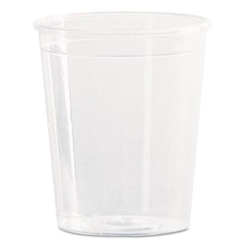 WNA Comet Plastic Portion/Shot Glass, 2 oz., Clear, 50/Pack (WNA P20)