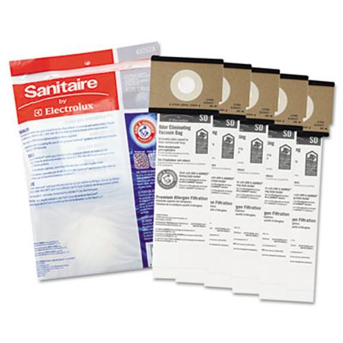 Eureka Vacuum Bags, Disposable, For Sanitaire Comm Upright Vacuums, 50/Case (EUR 63262-10)