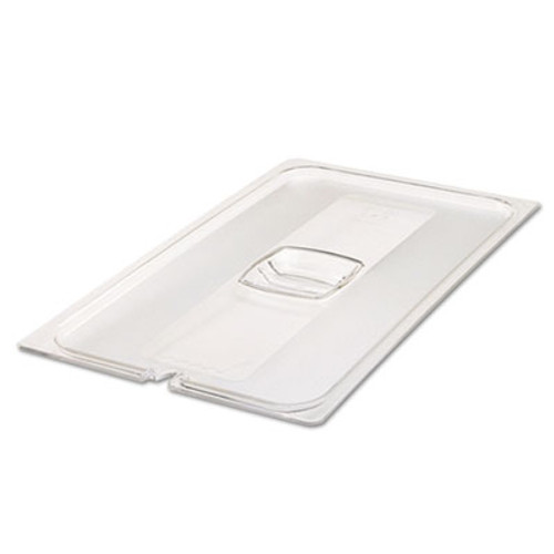 Rubbermaid Commercial Cold Food Pan Covers, 20 4/5w x 12 4/5d, Clear (RCP 134P CLE)