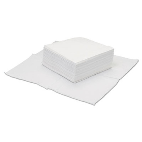 Hospital Specialty Co. TOUGHWORKS Four-Ply Nylon Scrim Wipers, Quarterfold, 12x12 White 50/BG 18BG/CT (HOS GS-C4300)