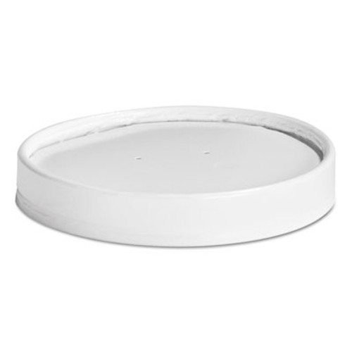 Chinet Vented Paper Lids, 16-32oz Cups, White, 25 Lids/Sleeve, 20 Sleeves/Carton (HUH 71871)