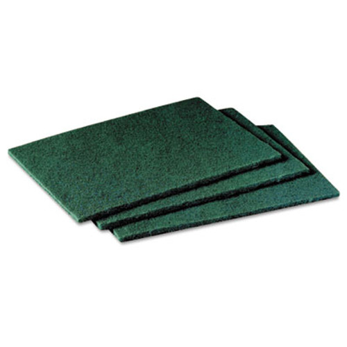 Scotch-Brite General Purpose Scrub Pad, 3 x 4 1/2, Green, 40 per Box (MCO 59166)