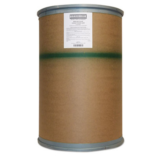 Boardwalk Oil-Based Sweeping Compound, Grit, Red, 300lbs, Drum (BWK A6COHORED)
