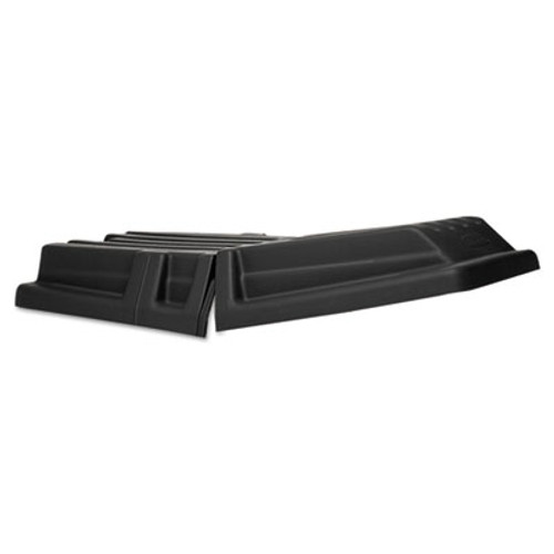 Rubbermaid Commercial Hinged Tilt Truck Lid, Rectangular, 28 1/2 x 56 1/2 x 9, Black (RCP 1307 BLA)