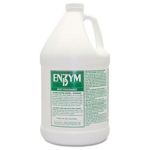 Big D Industries Enzym D Digester Deodorant, Mint, 1Gal, Bottle, 4/Carton (BGD 1504)