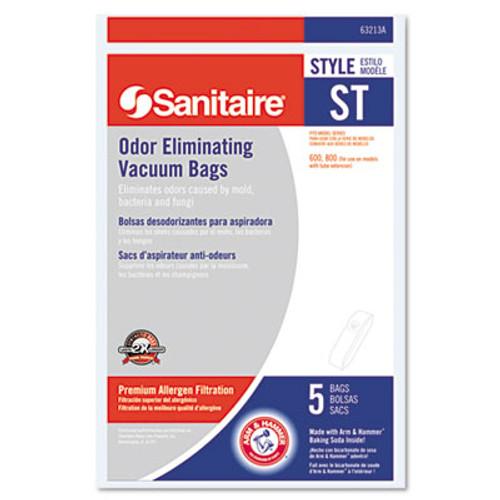 Electrolux Sanitaire Eureka Disposable Bags for SC600 & SC800 Series Vacuums, 5/Pack (EUR63213B10)