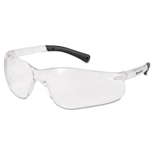 Crews BearKat Safety Glasses, Frost Frame, Clear Lens (CWS BK110AF)