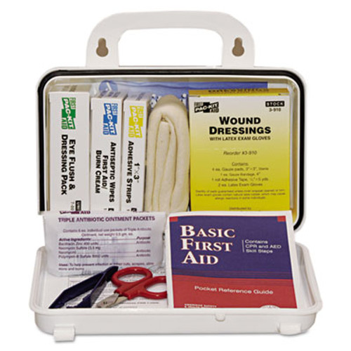 Pac-Kit ANSI Plus #10 Weatherproof First Aid Kit, 76-Pieces, Plastic Case (ACE 6410)