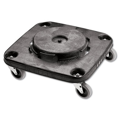 Rubbermaid Commercial Brute Container Square Dolly, 250 lb Capacity, Black (RCP 3530)